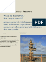 Annular Pressure Overview