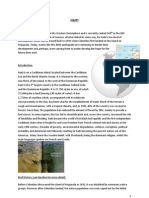 Haiti - Detailed A level Geography case study
