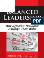 Balanced Leadership- How Effective Principals Manage Their Work