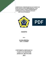 Skripsi Audit Inspektorat Kota