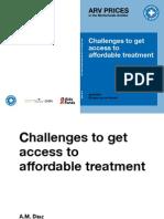 Prijzen HIV-medicatie Nederlandse Antillen