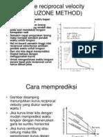Metode Reciprocal Velocity (FUKZONE METHOD)