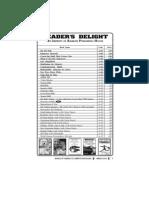 RRB Exam Catalog