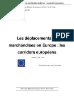 Deplacement Marchandises en Europe