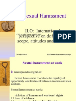 ILO Sexual Harassment With Notes