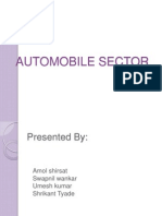 19602194 Automobile Sector Best Ppt Ppt (1)