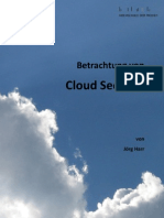 Betrachtung Cloud Security