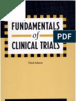 Fundamentals of Clinical Trials
