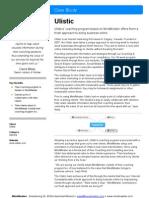 MindMeister › Case Study › Ulistic