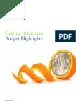 India Budget 2012 by Delliote