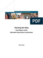Education Governance Commission Report