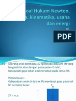 Soal-Soal Hukum Newton, Dinamika, Kinematika (1)