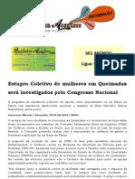 Estupro Coletivo de mulheres em Queimadas será investigados pelo Congresso Nacional