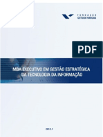 MBA em Gestão Estratégica da Tecnologia da Informação (2012.1)[1]
