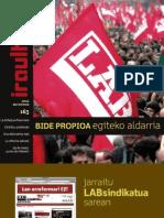 163 iraultzen (aldizkari sindikala, revista sindical, journal syndical)