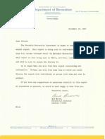 11/12/1954 Ferndale, Michigan Annual Recreation Report