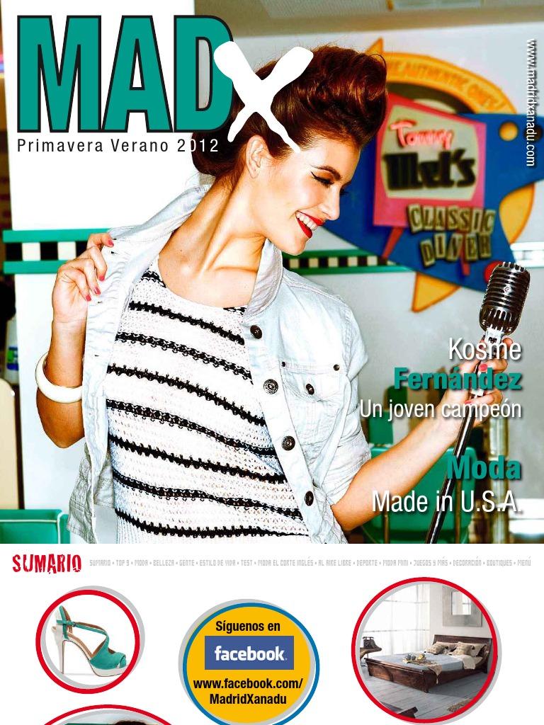 Revista Verano Revista Primavera Madx Primavera Verano 2012 Revista 2012 Madx 8n0vwONym