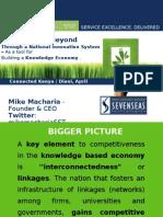 Innovation & Kenya -Mike Macharia Seven Seas