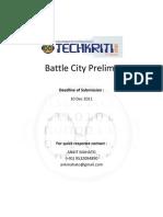 Battle City Coding Questions