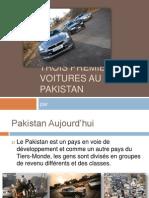 Trois Premières Voitures au Pakistan