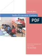 India Economic Updata March2012