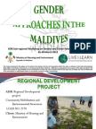 Gender Approaches in the Maldives