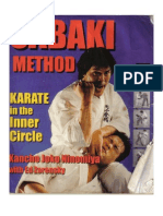Sabaki Method Karate in the Inner Circle- Kancho Joko Ninomiya