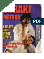 Sabaki Method Karate in the Inner Circle- Kancho Joko Ninomiya