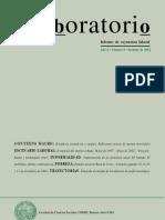 Lavboratorio, nº 09, 2002