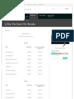 3 Day City Breaks Holidays Bangkok Pattaya Phuket Samui Kuala Lumpur Langkawi Genting Highlands Singapore