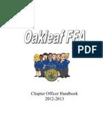 oakleaf ffa officer application 2013