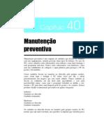 cap40 - Manutenção preventiva
