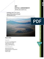 PRELIMINARY ENVIRONMENTAL ASSESSMENT Burning Man 2012-2016 Special Recreation Permit