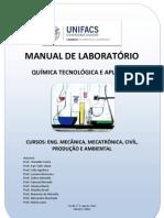 Manual de Práticas  de Quimica  Tecnológica e Aplicada