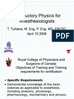 Physics for Anesthesiologists 09