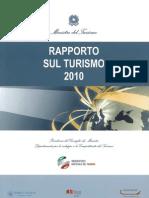 rapporto sul turismo 2010