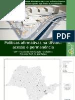 24-8-2011_Emancipa_USP_Política afirmativa na UFABC - completa