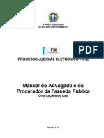Manual PJE Advogado Tjpe