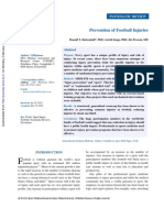 Prevention of Football Injuries