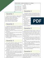 Caderno Vestibular - Biologia - Prova 04