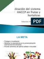 Aplicación del sistema HACCP en frutas y hortalizas
