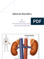 Adrenal Disorders Sam Medsurg
