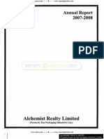 Alchemist Realty Limited 2008