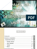 Manual como desensamblar una PC