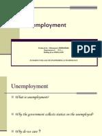 Project of English Unenployment