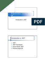 Introduction Dot Net
