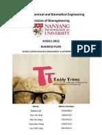HRM Final Report Teddy Trim