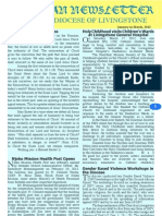 Catholic Diocese of Livingstone Newsletter Jan to Mar 2012