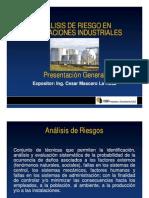 Analisis de Riesgo en Instalaciones industriales