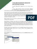 WINDOWS SERVER 2008 R2 REMOTE DESKTOP SERVICES – Remote Desktop Licencing